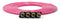 Tire Inflator Hose Replacement 240 Inch W/4 Quick Release Chucks Pink UP Down Air ( 340-4100-PNK )