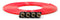 Tire Inflator Hose Replacement 240 Inch W/4 Quick Release Chucks Red UP Down Air ( 340-4100-RED )