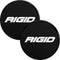 COVER FOR RIGID 360-SERIES 6 INCH LED LIGHTS BLACK SET OF 2