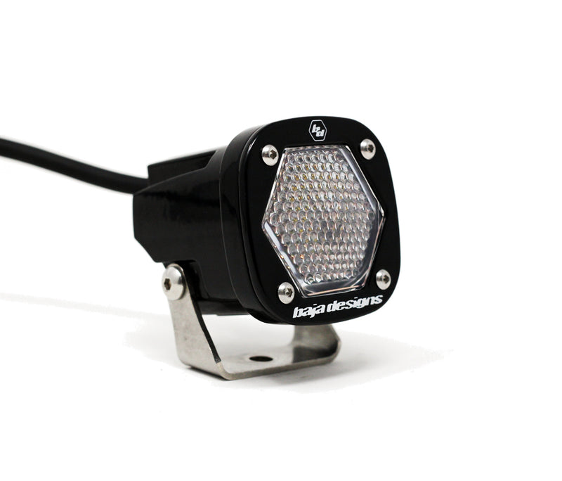 S1 Work/Scene LED Light with Mounting Bracket Single Baja Designs ( 380006-FGXX )