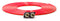 Tire Inflator Hose Replacement 288 Inch W/2 Quick Release Chucks Red UP Down Air ( 388-2100-RED )