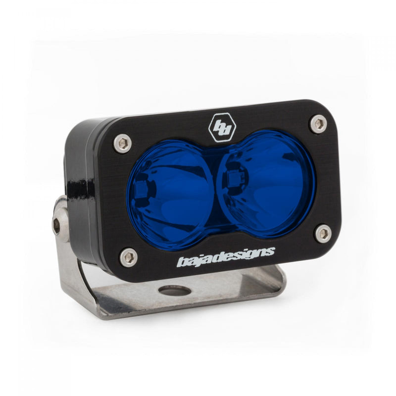 LED Light Pod Spot Pattern Blue S2 Pro Baja Designs ( 480001BL-FGXX )