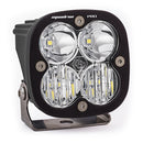 LED Light Pod Black Clear Lens Driving/Combo Pattern Squadron Pro Baja Designs ( 490003-FGXX )
