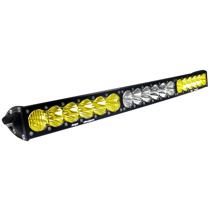 30 Inch LED Light Bar Amber/WhiteDual Control Pattern OnX6 Arc Series Baja Designs ( 523003DC-FGXX )