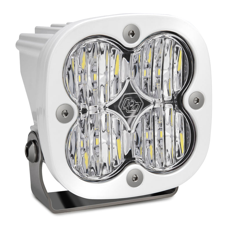 LED Light Pod Wide Cornering Pattern Clear White Squadron Sport Baja Designs ( 550005WT-FGXX )