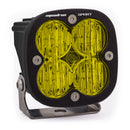 LED Light Pod Wide Cornering Pattern Amber Black Squadron Sport Baja Designs ( 550015-FGXX )