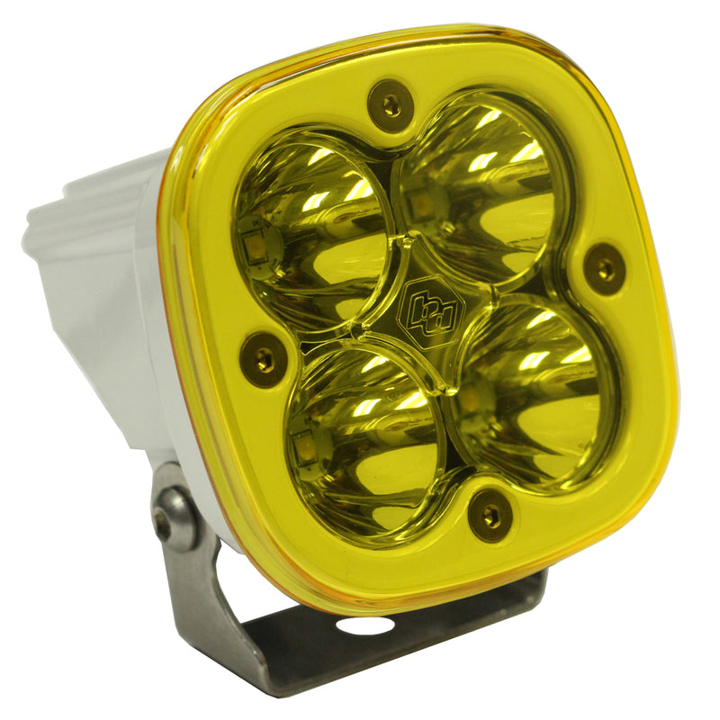 LED Light Pod Work/Scene Pattern Amber White Squadron Sport Baja Designs ( 550016WT-FGXX )