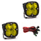 LED Light Pods Amber Lens Driving/Combo Pair Squadron Sport Baja Designs ( 557813-FGXX )