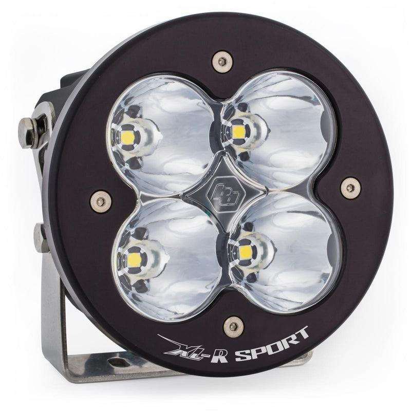 LED Light Pods Clear Lens Spot XL R Sport High Speed Baja Designs ( 570001-FGXX )