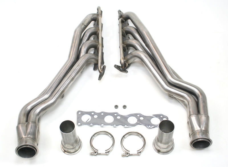 "JBA Performance Exhaust 6012S 1 3/4"" Header Long Tube Stainless Steel 07-19 Toyota Tundra 5.7L"