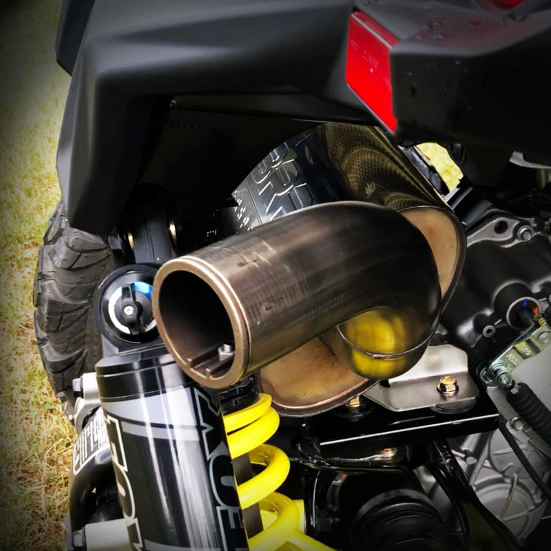 Single Slip-On Exhaust Pipe For Can Am Maverick Sport Series MBRP ( AT-9211SP )