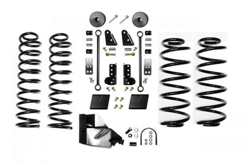 Jeep JL 3.5 Inch Enforcer Lift Stage 1 with Shock Extensions 18-Present Wrangler JL Unlimited EVO Manufacturing ( EVO-3013S1EXT )