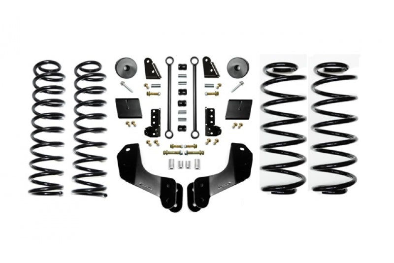 Jeep JL 3.5 Inch Enforcer Overland Lift Stage 1 with Shock Extensions 18-Present Wrangler JL Unlimited EVO Manufacturing ( EVO-3014S1EXT )