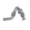 Turbo Exhaust Up-Pipe Dual For 03-07 Ford 6.0L Powerstroke Aluminized Steel Carb EO Num. D-763-3 For 03-07 Ford 6.0L Powerstroke MBRP ( FAL2313 )
