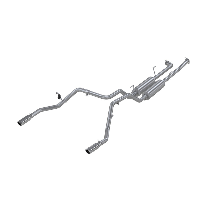 Cat Back Exhaust System Dual Split Rear T409 Stainless Steel For 07-08 Toyota Tundra MBRP ( S5302409 )