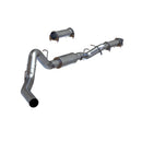 4 Inch Cat Back Exhaust System For 01-05 Silverado/Sierra 2500/3500 Duramax Ext/Crew Cab Single Side MBRP ( S6000P )