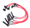 JBA Performance Exhaust W0675 Ignition Wires 05-10 Ranger 05-10 Mustang 4.0L Red