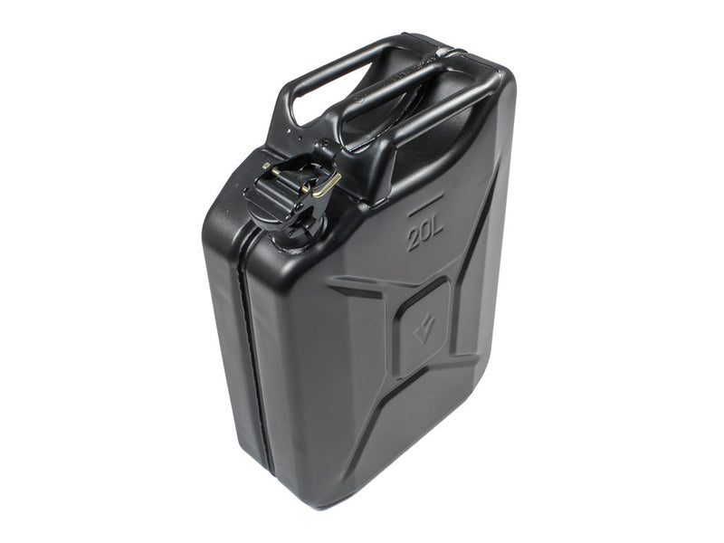 Jerry Can 20l Matte Black Steel Finish