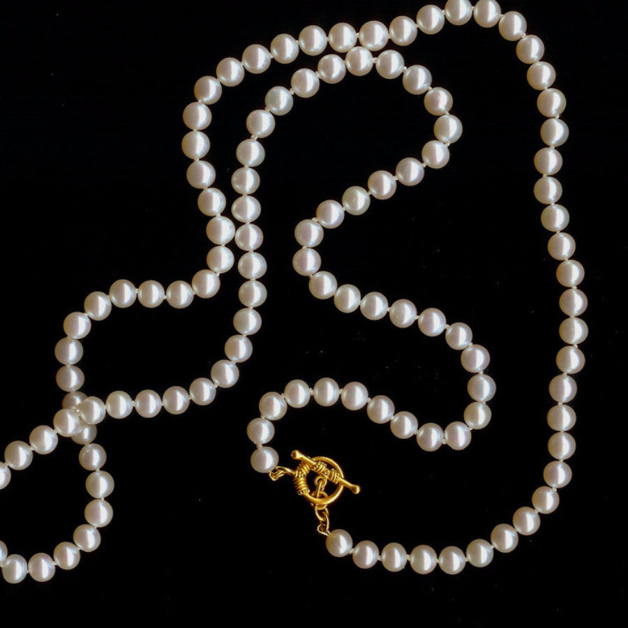 FRESHWATER PEARL OPERA LENGTH NECKLACE SERIES