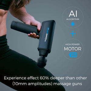 massage gun with 16mm amplitude