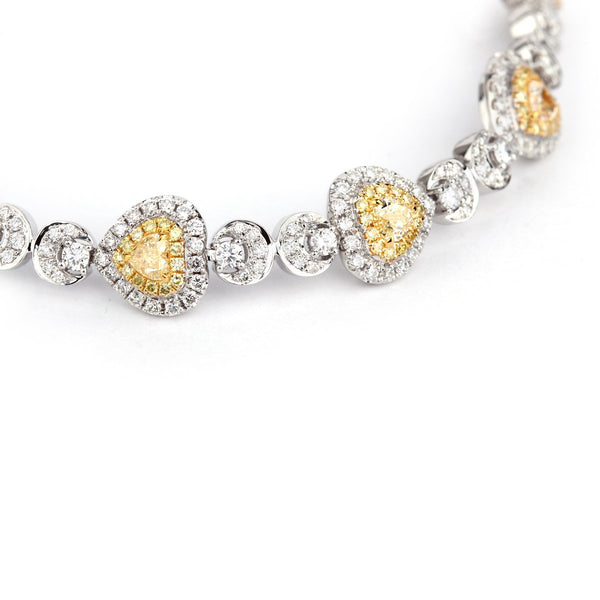 Amorette Yellow Diamond Bracelet