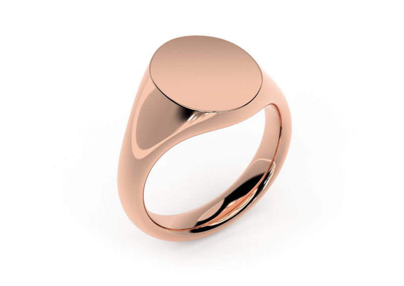 Design your personalised signet ring. Hand-seal engraved family crest. Rose gold. Kitney London