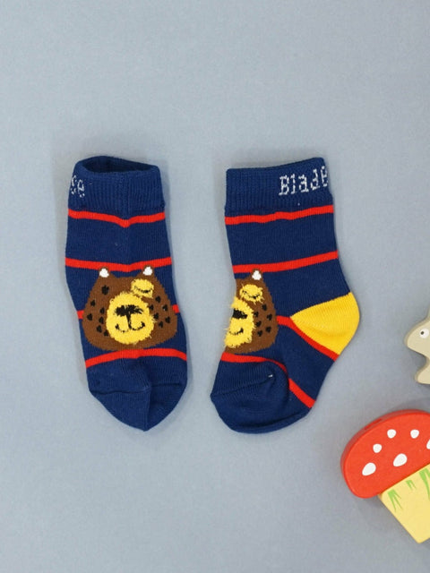 Big Brown Bear Socks
