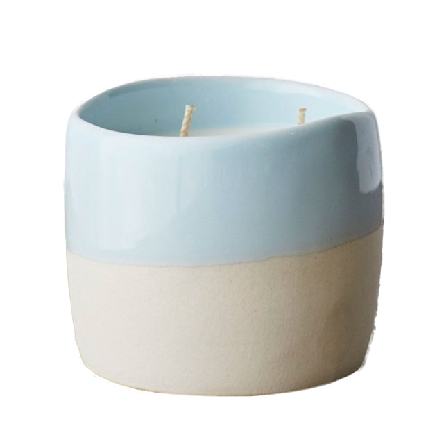 SUN BLEACHED DENIM CANDLE