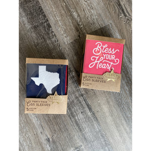 Texas Can Coozie Sets