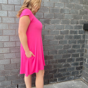 Cap Sleeve Summer Dress