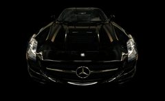 Scrape Armor Bumper Protection - Mercedes-Benz SLS AMG Coupe 2009-2014