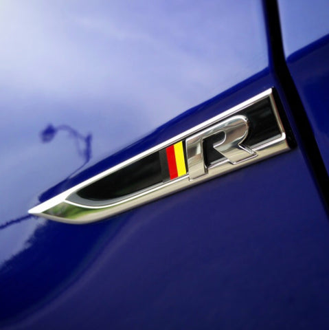 German Flag Fender Blade Skin