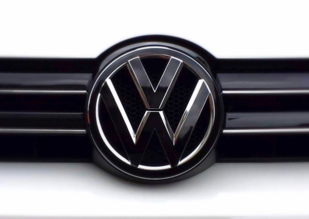 VW MK6 Black Emblem Set