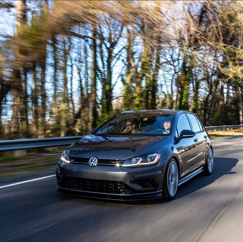 VW MK7.5 Golf R Front Bumper Splitter