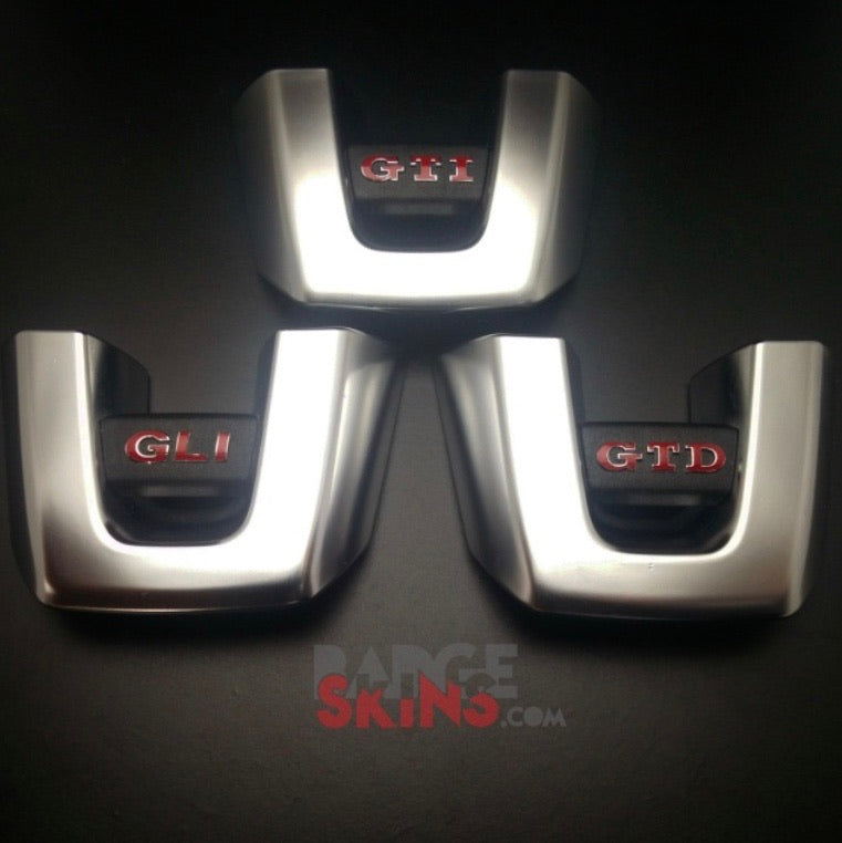 VW MK6 Itty Bitty Steering Wheel Skins