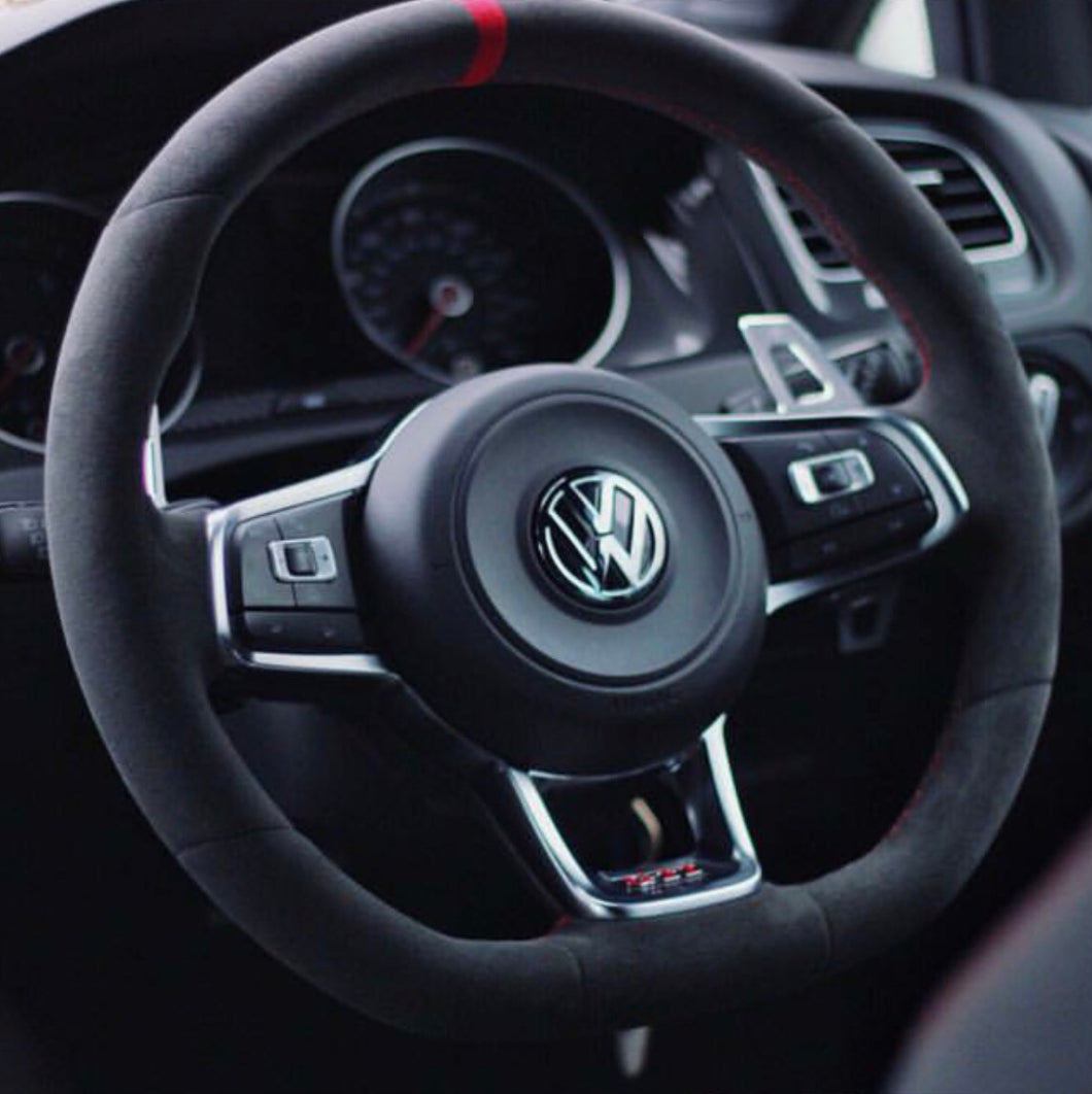 VW Steering Wheel Stripe