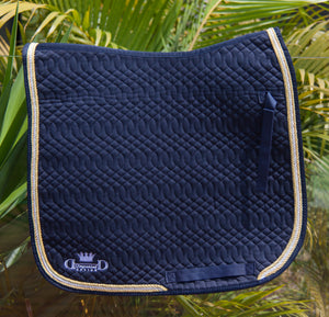 Navy Elite Dressage Pad