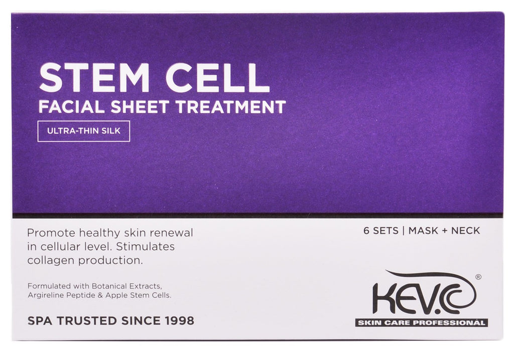 Stem Cell Facial Sheet Treatment