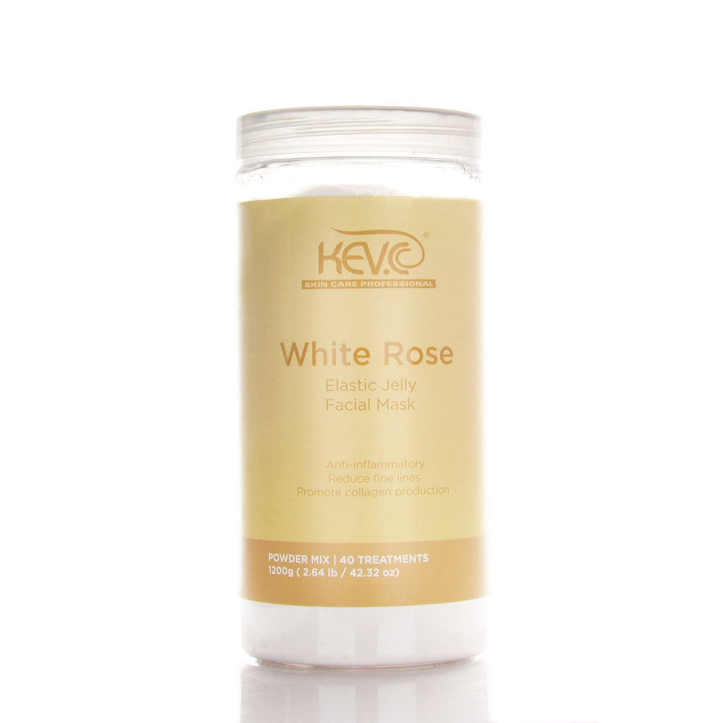 White Rose Elastic Jelly Mask