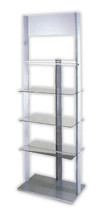 Glass Display Stand Shelf