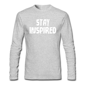 Stay Inspired Long-Sleeve - heather gray