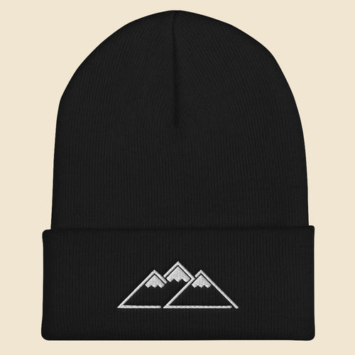 Peaks Beanie - (Assorted Colors)