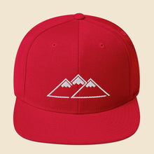 Load image into Gallery viewer, Peaks Snapback - (Assorted Colors)