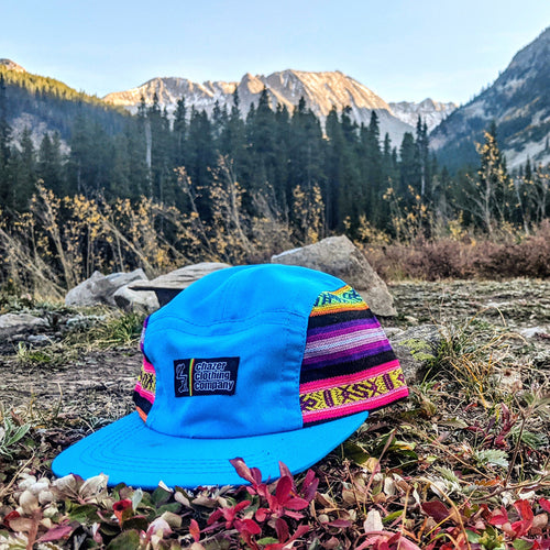 Blue Southwest Pattern 5 Panel - (LIMITED EDITION)