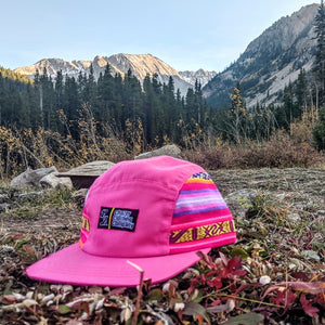 Pink Southwest Pattern 5 Panel - (LIMITED EDITION)