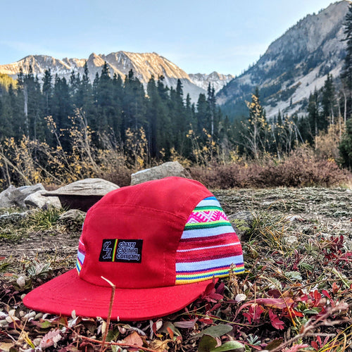 Red Southwest Pattern 5 Panel - (LIMITED EDITION)