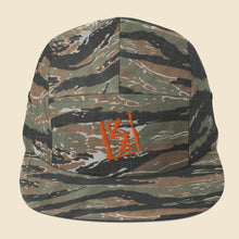 Load image into Gallery viewer, Orange Spray Logo Five Panel - (Assorted Colors)