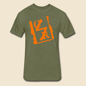 Spray Logo Tee (Orange Spray)