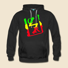 Load image into Gallery viewer, Rasta Spray Logo Hoodie - (Assorted Colors)