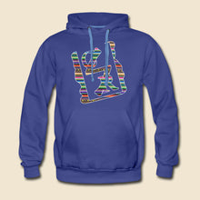 Load image into Gallery viewer, Southwestern Pattern Spray Logo Hoodie - (Assorted Colors)